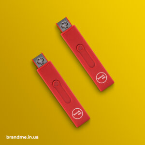 USB-зажигалка с прочным и легким корпусом с ABS пластика