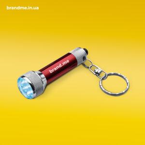 Компактный LED фонарик в металлическом корпусе