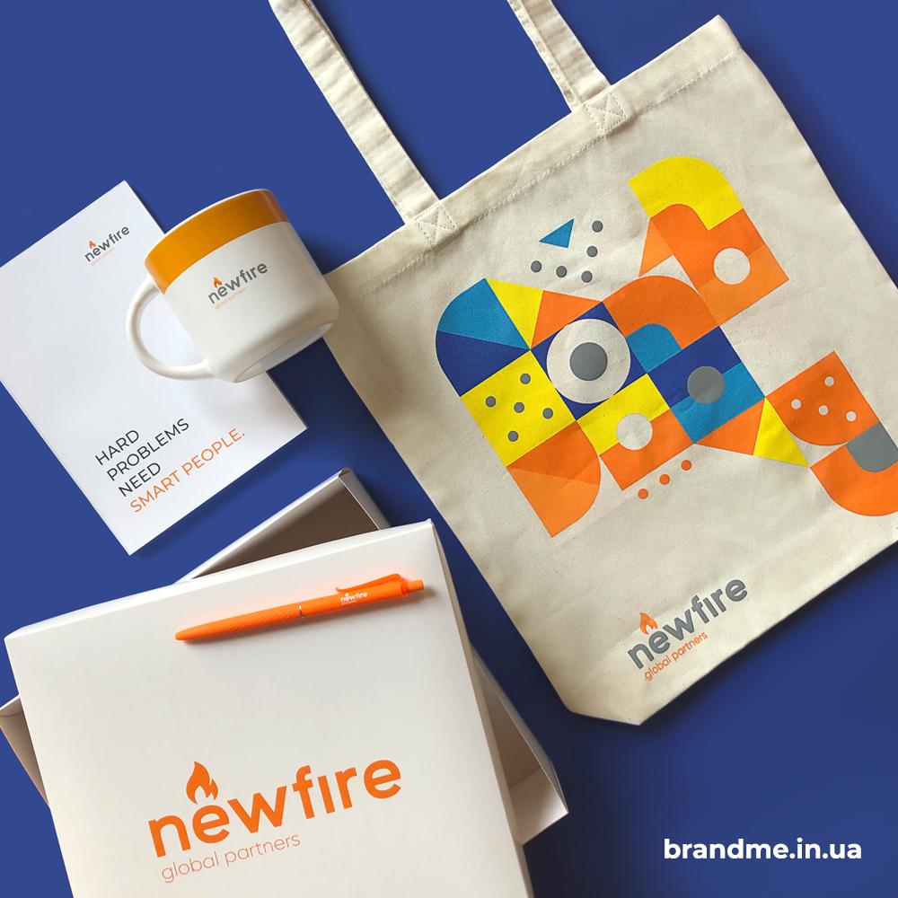Комплексный подарок для Newfire Global Partners