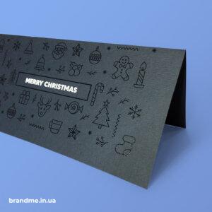 Дизайн та виготовлення новорічних листівок