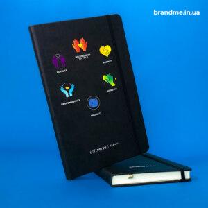 Об'ємний друк кольорових зображень на блокнотах для