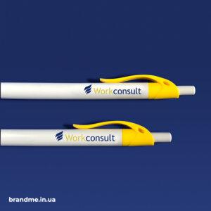 Ручки з логотипом для IT-HR компанії