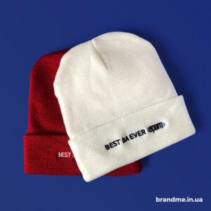 Брендированные шапки для компании