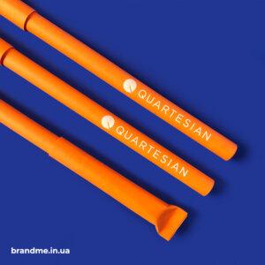 Екоручки з логотипом для компанії