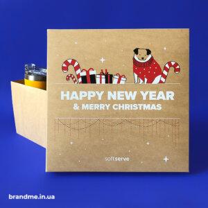 Подарункова коробка з друком для компанії