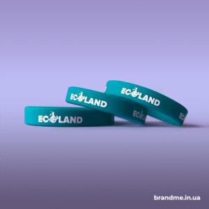 Силиконовые браслеты с логотипом для школы