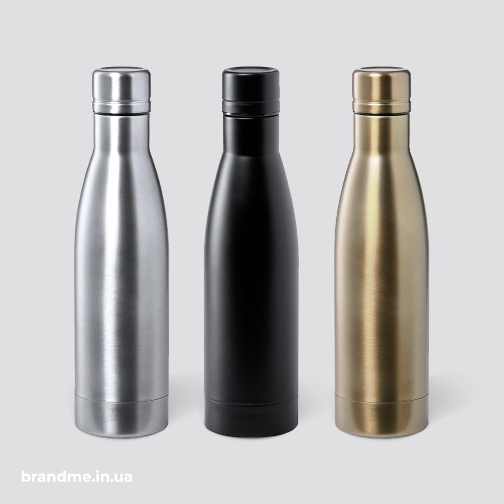 Вакуумная бутылка с двойными стенками из нержавеющей стали и медной изоляцией