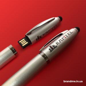 Ручка-стилус з вбудованою флешкою для компанії
