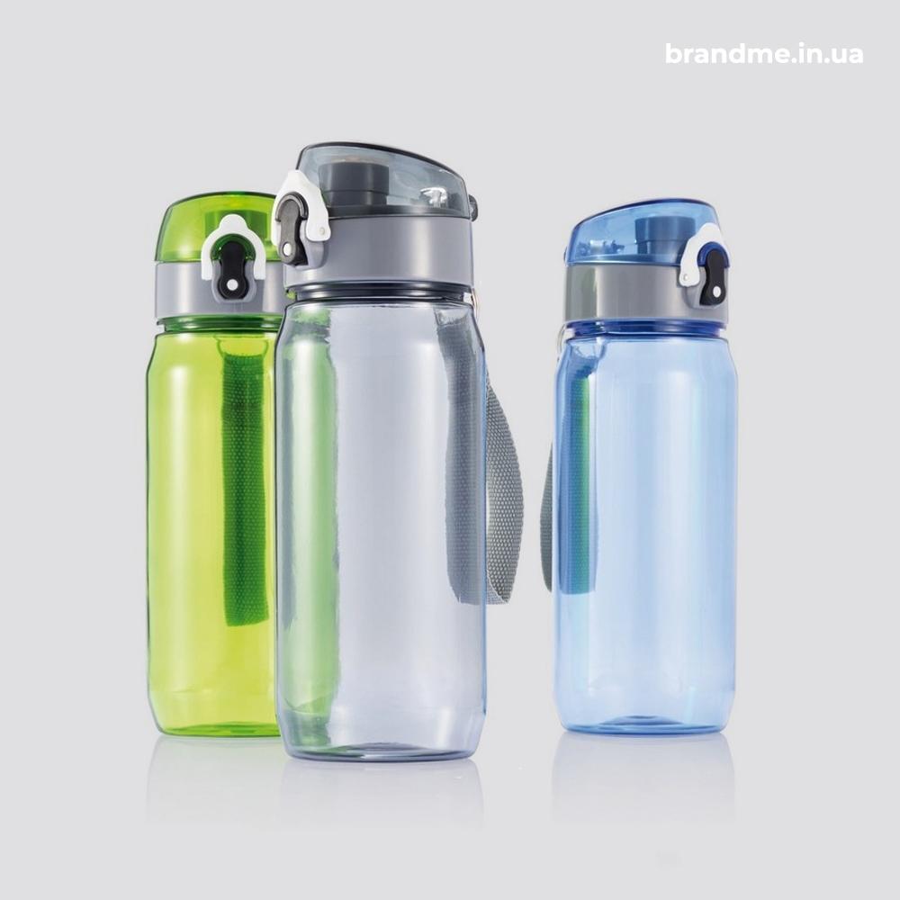 Цветные спортивные бутылки с тритана