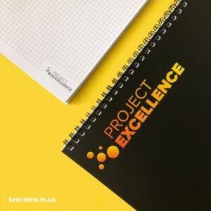 Виготовлення блокнотів з матовою обкладинкою для компанії