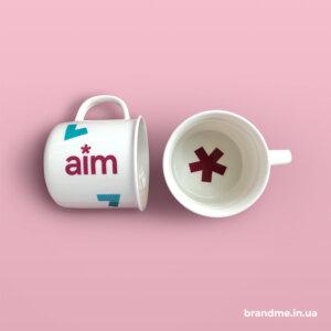 Чашки з принтом для Простору ментального комфорту Аim