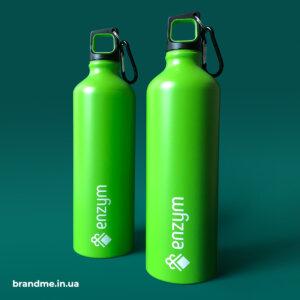 Яркие бутылки с логотипом для ЧАО