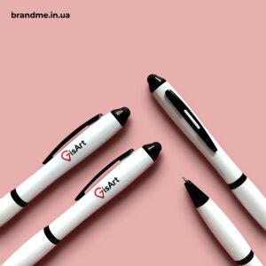 Ручки-стилуси з логотипом для ІТ-компанії GIS Art