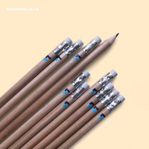 Брендированные карандаши с логотипом для компании