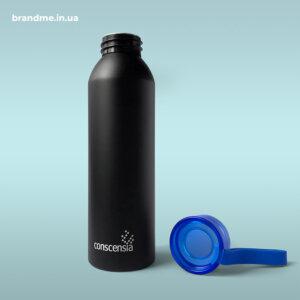 Металеві пляшки для спорту з гравіюванням для ІТ-компанії